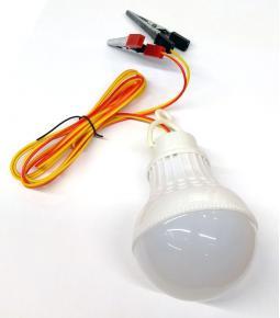 Luz de inspección Led con pinzas 12v 5w