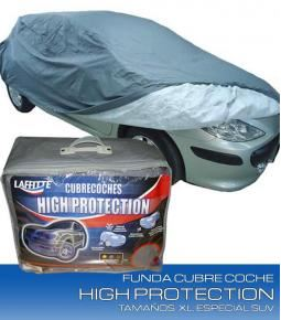 Cubre coche HIGH PROTECTION Tamaño SUV II - Con Felpa y Cierre