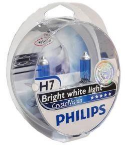 Kit de lamparas Crystal Vision H7 + w5w