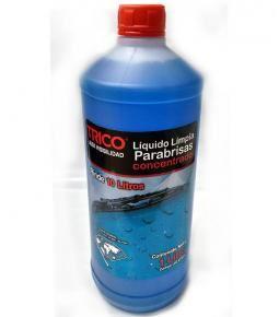 Liquido Limpiaparabrisas Trico Concentrado 1 litro, rinde 10 litros