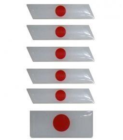 Banderas Japon resina varios tamaños