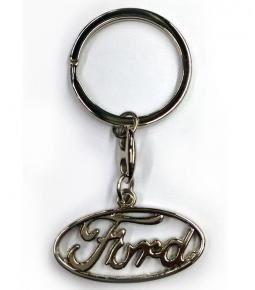 Llavero de metal logo Ford