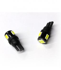 LED T10 SMD 5630 NEGRA