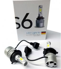 Cree Led S6 H4 Con Cooler 36w/16000lm
