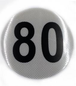 Circulo Reflectivo 80