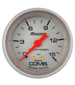 Presion de nafta 16 psi racing plata