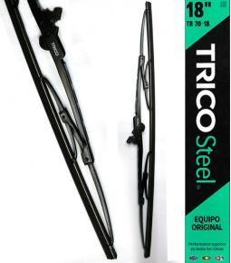 Escobillas TRICO Steel Equipo original - Performance superior en todos los climas