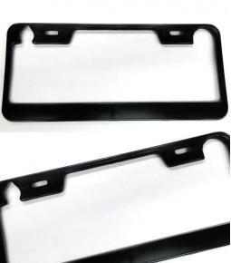 Marcos de patente negro plástico