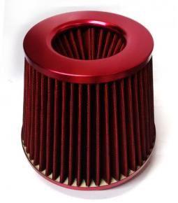 Filtro de aire Bicónico Rojo