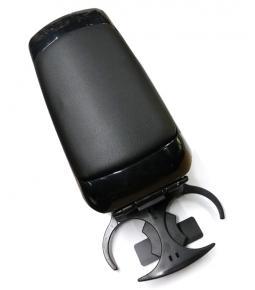 Apoya Brazo con Porta Objetos Negro, con Posa Vaso