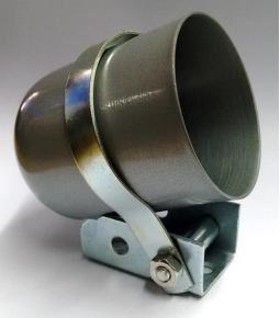 Carcaza instrumental 52mm metal gris
