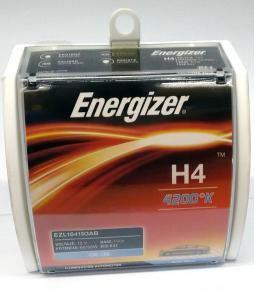 Lamparas H4 4200K - Energizer Artic Blue