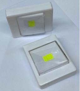 Plafon tecla LED COB a pilas - con Iman