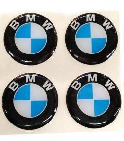 Centros de llanta BMW 49mm en resina