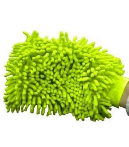 Guante Manopla de Microfibra / Limpia, Seca y da Brillo