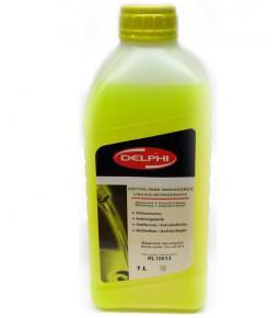 Liquido Refrigerante Delphi para Radiadores 1L Amarillo / Orgánico y Concentrado / Anticorrosivo / Anticongelante