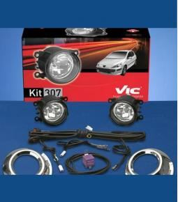 Kit faros auxiliares Peugeot 307 2007+
