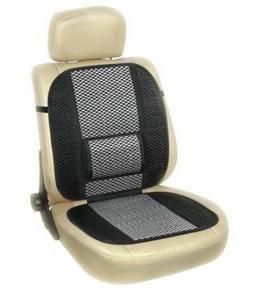Sobre asiento acolchado