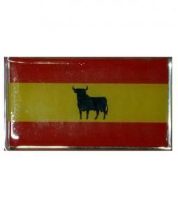 Bandera españa resina