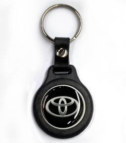 Llavero plástico y resina logo Toyota