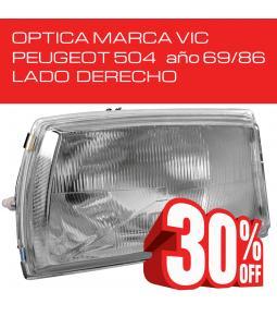 Optica Peugeot 504 69/86 Derecha VIC
