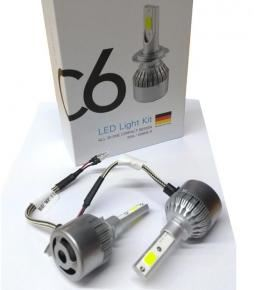Cree Led C6 H27 Con Cooler 36w/6000LM